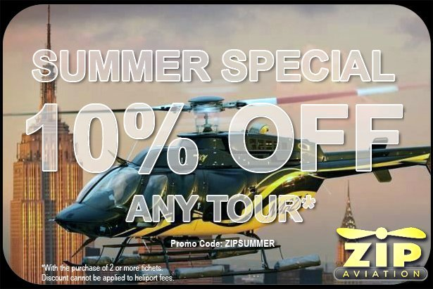 Zip Aviation Helicopter Tours Summer Special