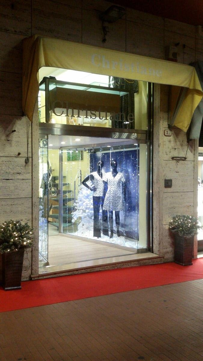 Entrata Christiane abbigliamento Ventimiglia