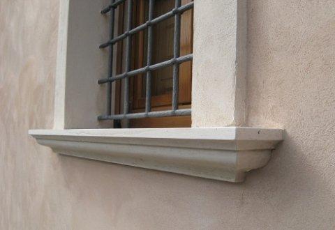 base per finestre, mensoline per finestre, marmo lavorato