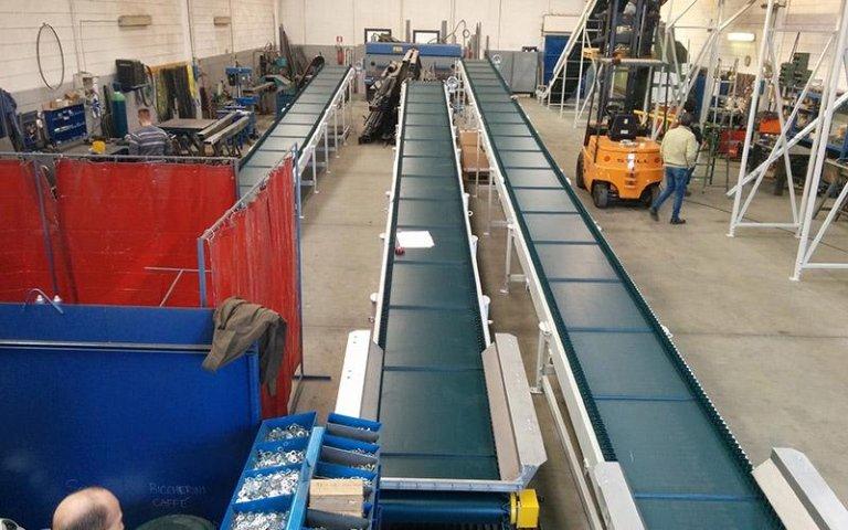 Macchine industriali in pvc