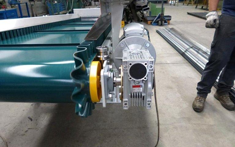 Motori per nastri in pvc