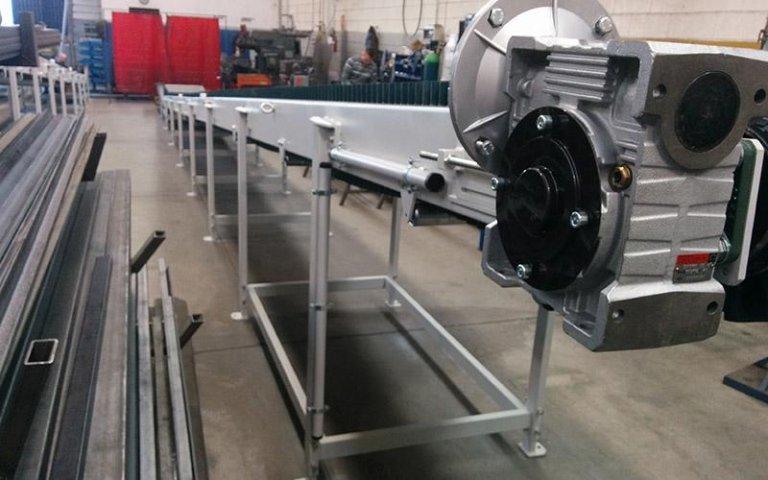 Motori per nastri industriali