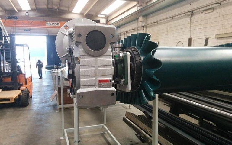 Motore su misura macchinari industriali