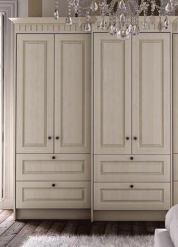 beige coloured wardrobes