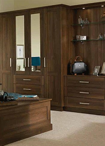 brown wardrobes