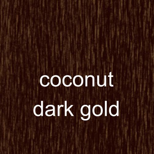 coconut dark gold