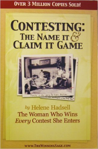Contesting: the Name it & Claim it Game and the SPEC technique by Helen Hadsell