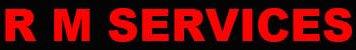 R M Services logo