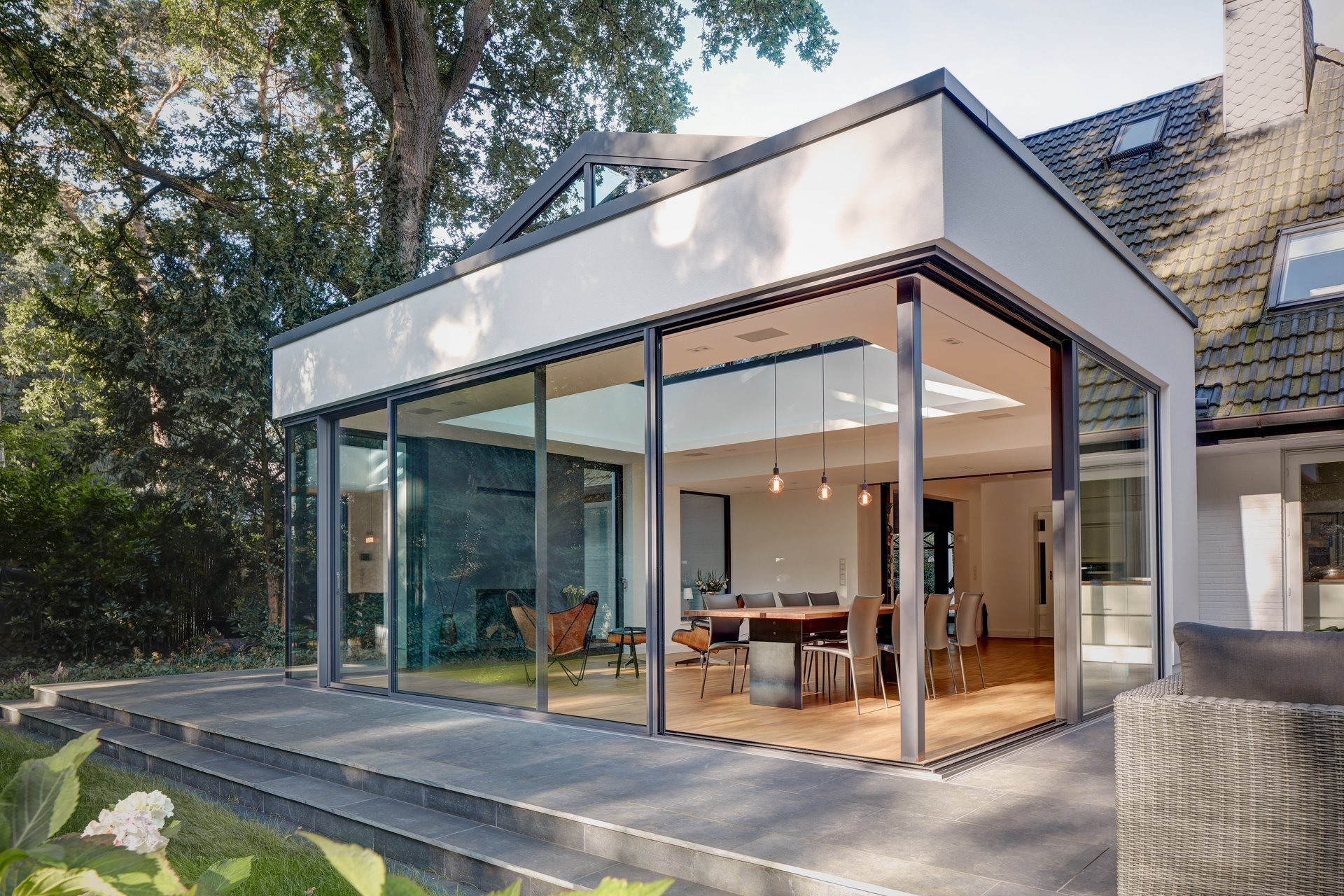 Solarlux Melle nordic designs solarux bi fold and sliding doors in south