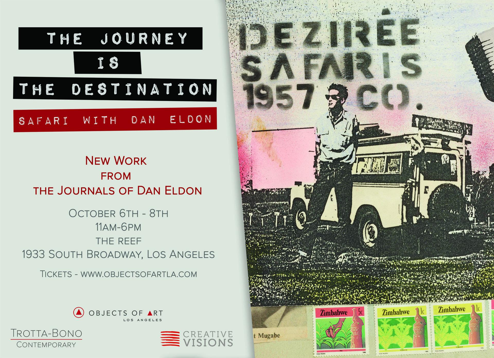 Objects of Art LA feat. Safari with Dan Eldon Exhibition