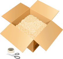 Box & packing materials