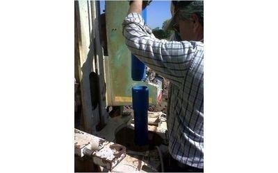inserimento tubi pvc Dafroso