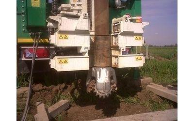 trivellazioni pozzi geotermici con macchine pesanti Gambara