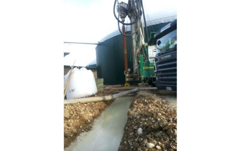 perforatrice impianto biomassa Dafroso