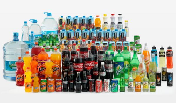 Coca Cola, Aranciata, Sprite