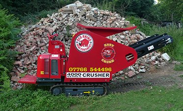 Crushing and recycling equipment