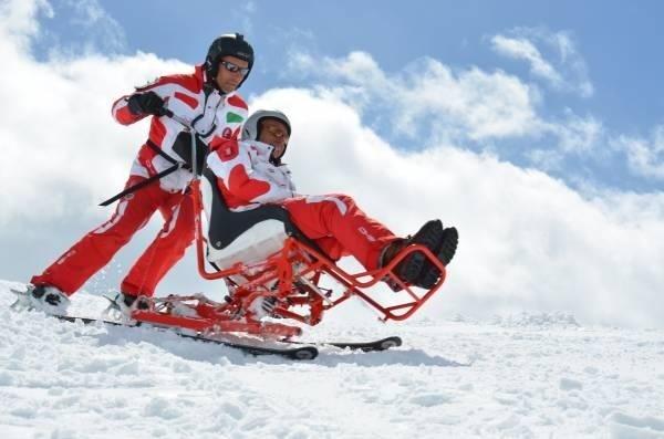 scuola di sci per disabili