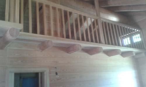 balconata in legno