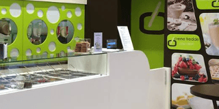 allestimento, interior design, gelateria, negozio