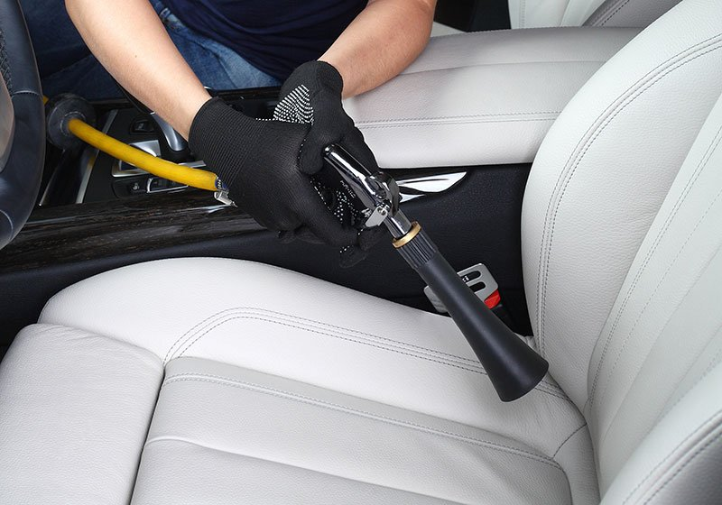Cleaning of interior of the car