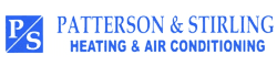 Patterson & Stirling AC & Heating Contractors Logo, Erie PA