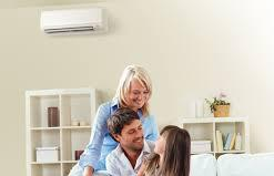 Family in Home, Residential HVAC Service in Erie PA