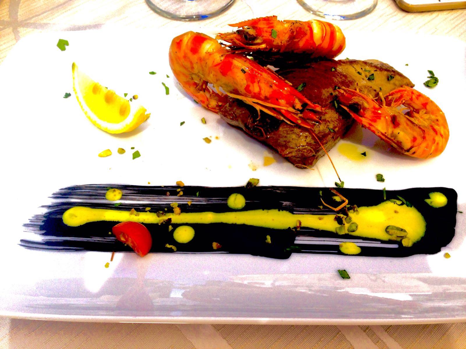 Piatto pesce gourmet