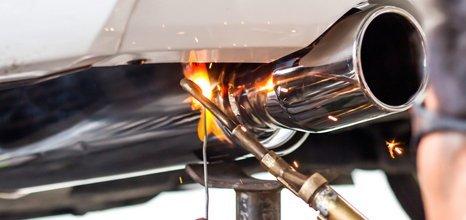 exhaust welding
