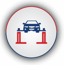 graphic of car at the MOT center
