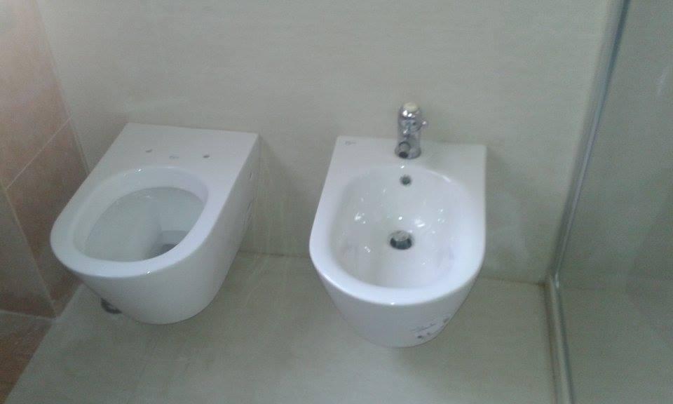 bagno con bidet