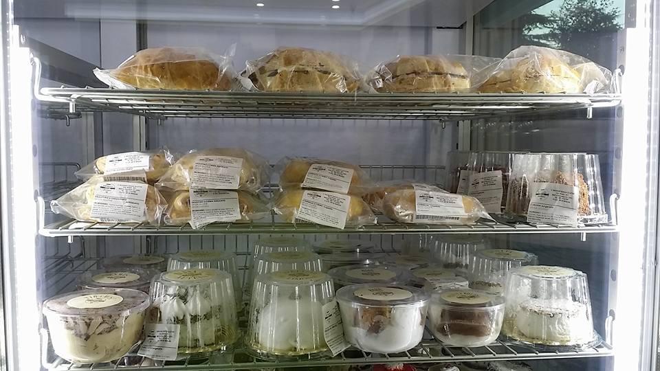 vaschette di dolce e salato confezionate