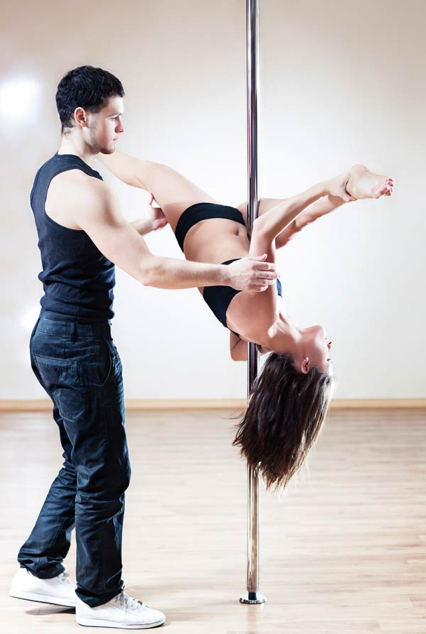 HomeBodies NYC Pole Dancer Personal Trainer