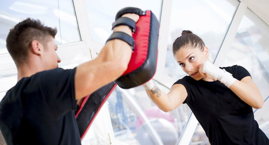 NYC Kickboxing Personal Trainers from HomeBodies