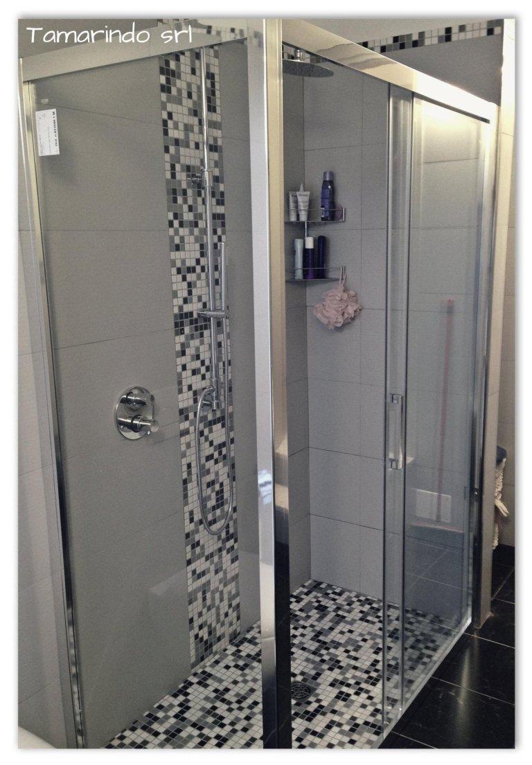 Mosaico Appiani e doccia Disenia