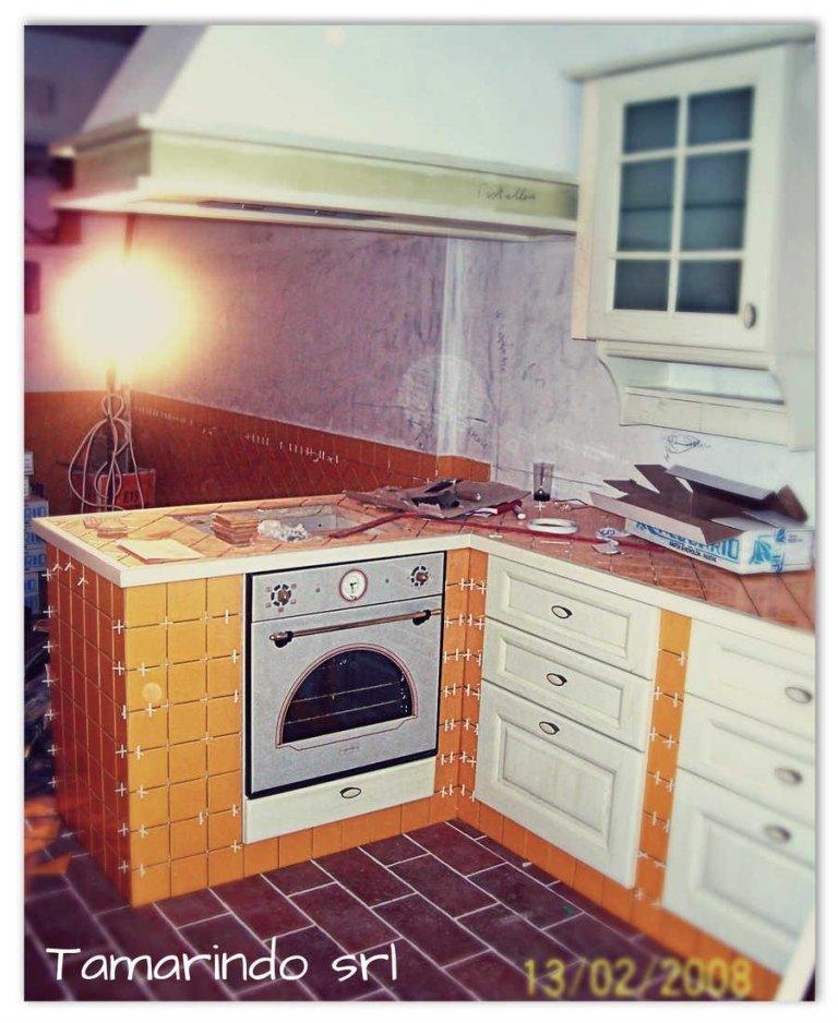 Cucina in muratura – Bergeggi (SV)