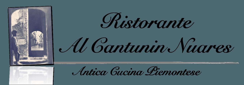 RISTORANTE AL CANTUNIN NUARES - LOGO