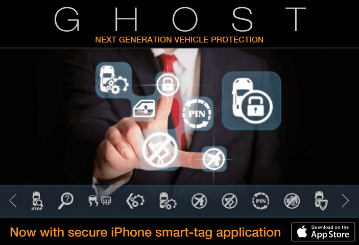 ghost  vehicle protection promotion banner