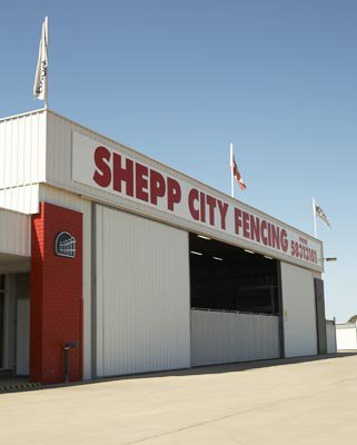 shepp city fencing building