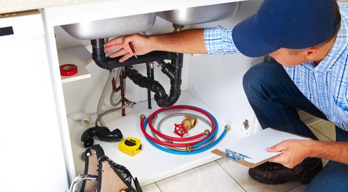 Most trusted plumbers installing new pipes in Plover, WI