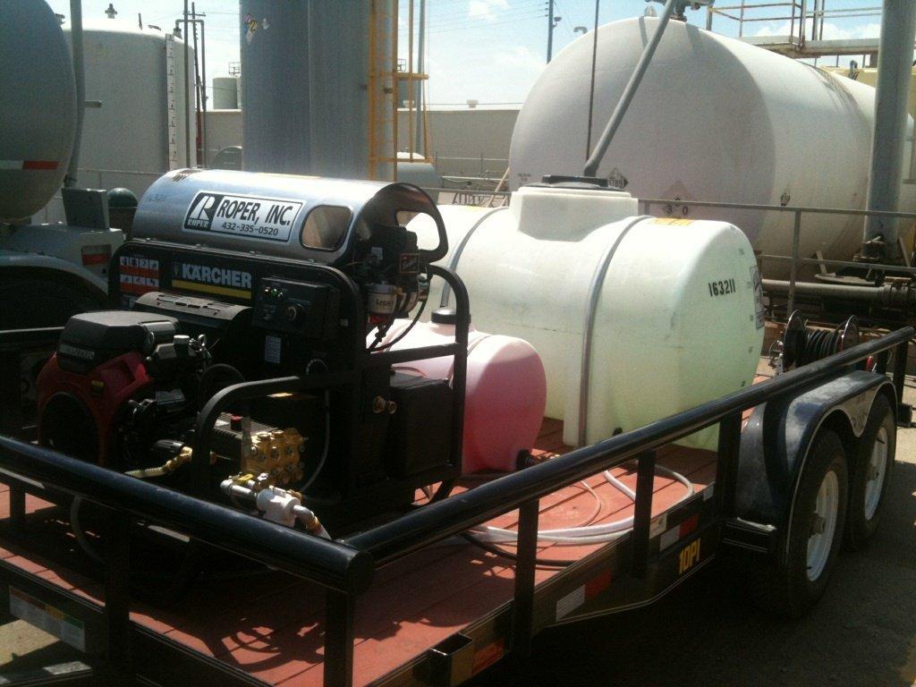 Washer trailer rental, Midland, TX