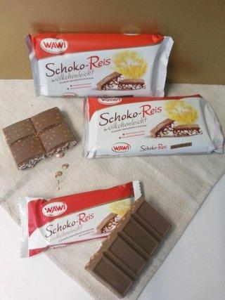 PUFFED RICE WITH CHOCOLATE