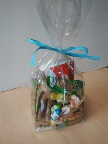 bag with assorted sweets