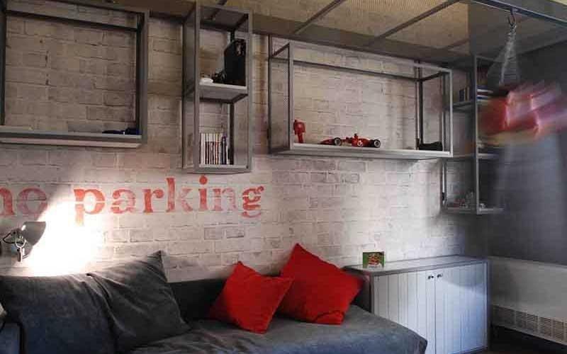 mobili in alluminio