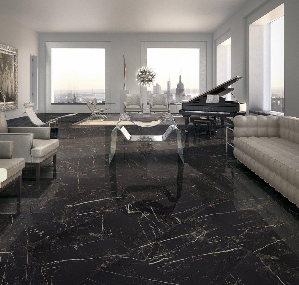 granito pavimento con arredamento