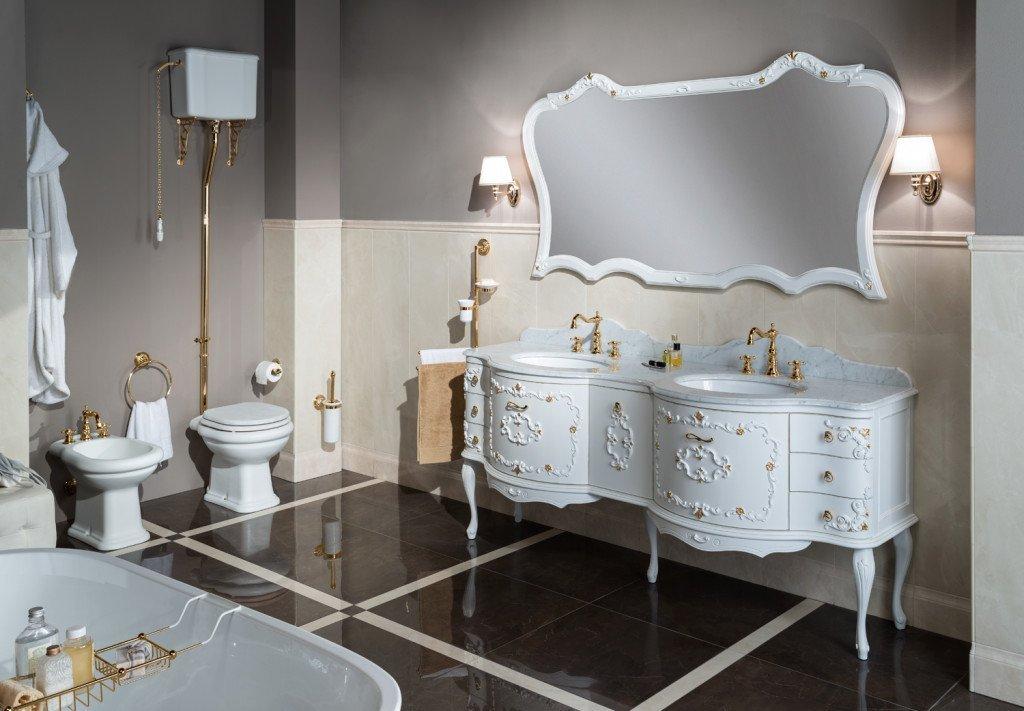 arredamento stile in bagno moderno