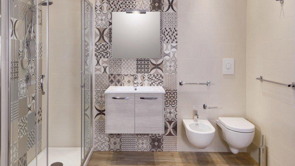 bagno moderno decorato