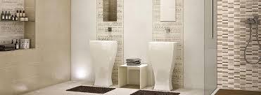 Piastrella da bagno da parete in ceramica con tema bianca e arredamento bagno