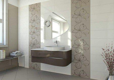 piastrella da bagno da parete in ceramica