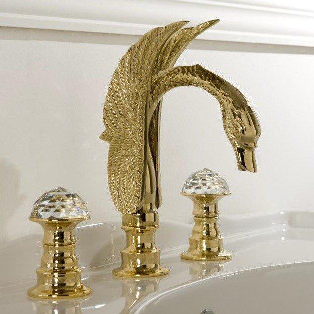 rubinetto color oro