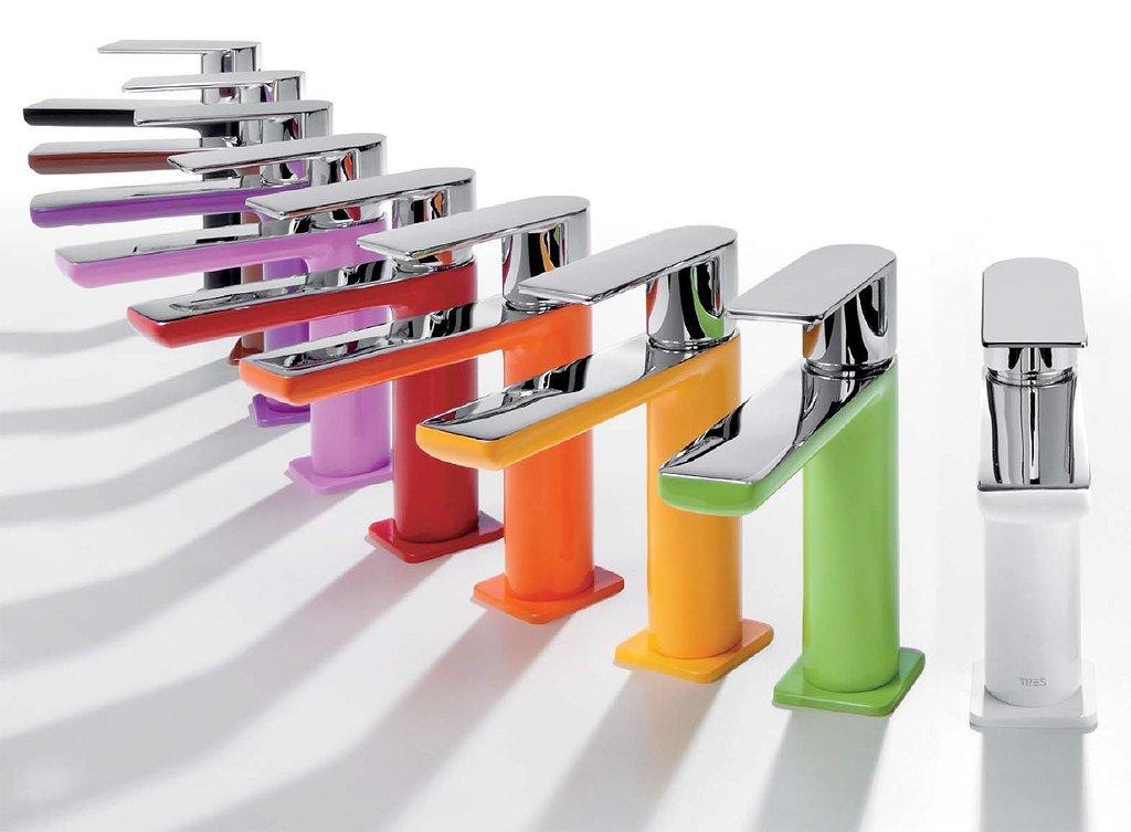 rubinetti colorati